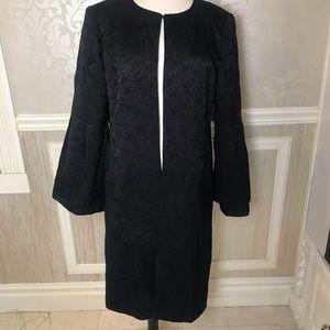 Calvin Klein Plus gorgeous 1x long flattering coat